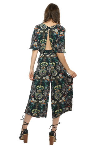 Darah Dahl Wildflowers Jumpsuit