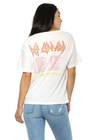 Daydreamer Def Leppard Tour BF Tee