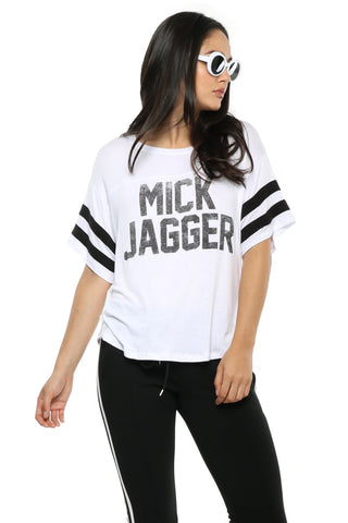 Daydreamer Mick Jagger Football Tee