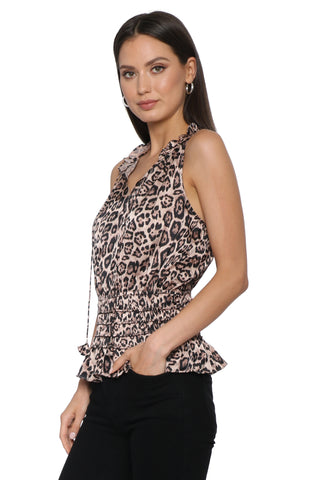 Decker Leopard Top