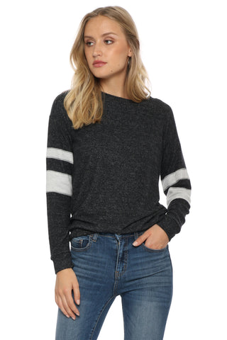 Jac Parker Varsity Stripe Sweater