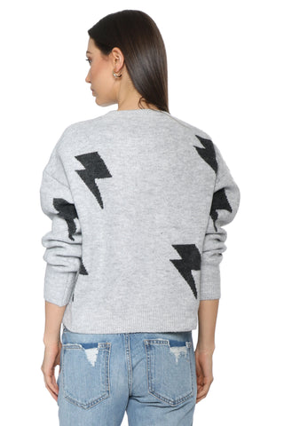 Sunday Stevens Bolt Out Star Sweater