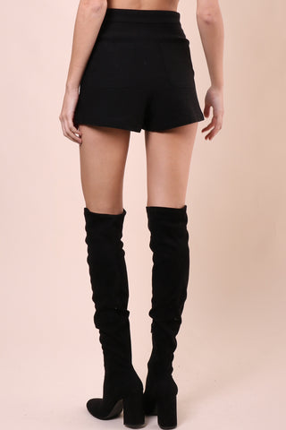 Gab & Kate Mercury Lace Up Shorts