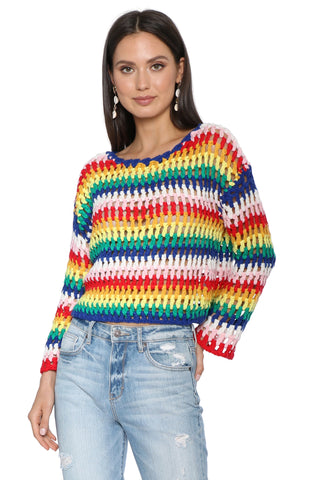 Darah Dahl Rainbow Sweater