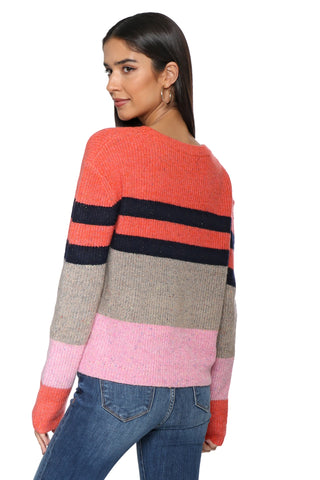 Fox + Hawk Chunky Striped Sweater