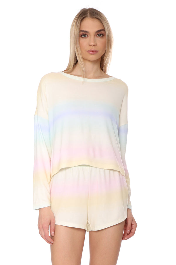 Skylar Rainbow Long Sleeve