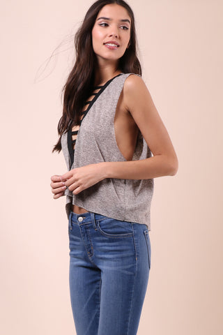 Fox + Hawk Ladder Muscle Tee