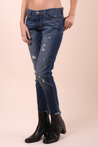 Flying Monkey Frayed Boyfriend Jeans