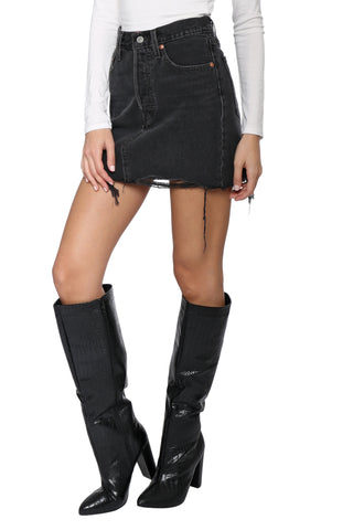 Levi's Deconstructed Skirt III Fated