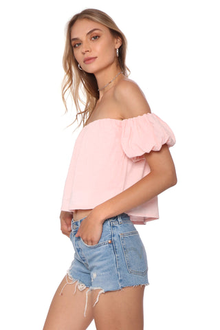 Shabby Chic Ula Off The Shoulder Top