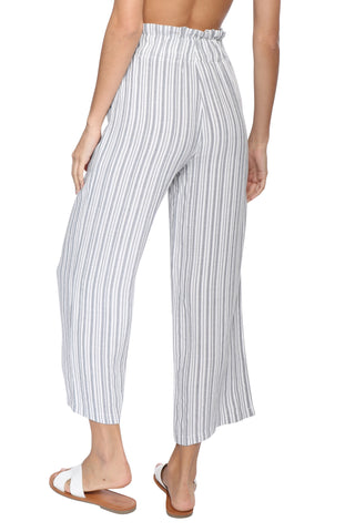 Sunday Stevens Stripe Crop Pant