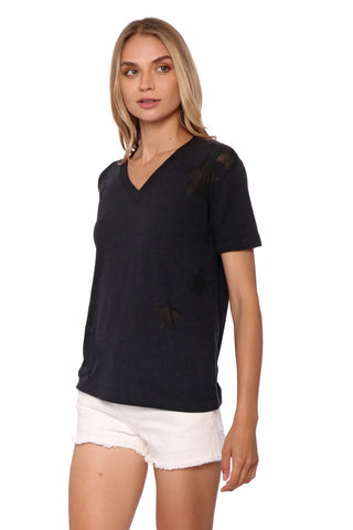 Jac Parker Star Burnout Tee