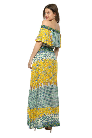 Darah Dahl Summer Getaway Maxi Dress