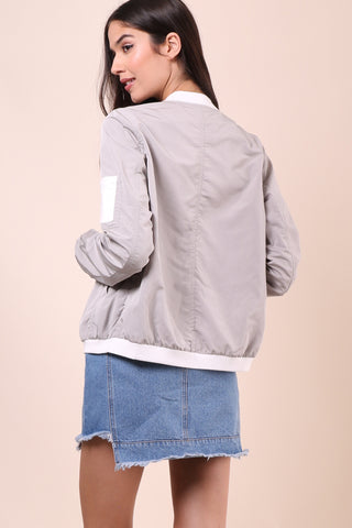 Brooklyn Karma Wonder Why Bomber Jacket