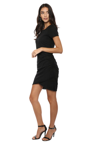 Jac Parker Side Ruched Dress