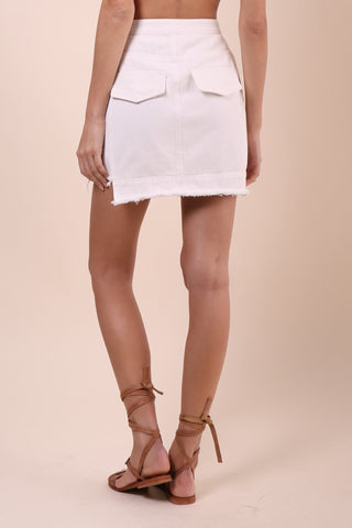 Gab & Kate Denim Mini Skirt