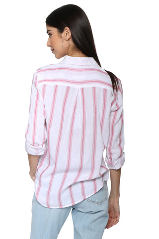 Rails Regan Top - Tulip Stripe