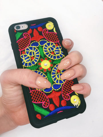 Wildflower Georgette Two iPhone 6/6s Case