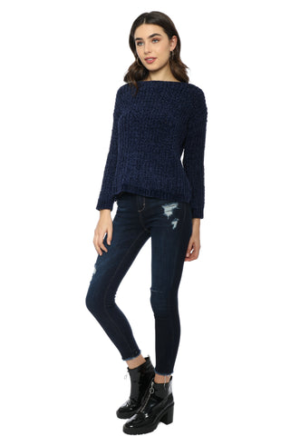 BB Dakota Cella Velour Sweater