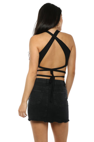 Brooklyn Karma Hey Babe Crop Top
