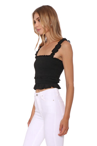 Gab & Kate Summer Night Crop Top