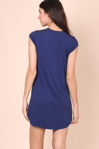 Sunday Stevens Swing it Dress - Navy