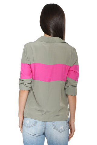 Decker Colorblock Button Down