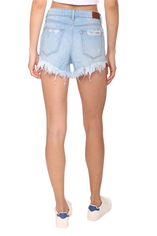 Hidden High Rise Super Frayed Shorts