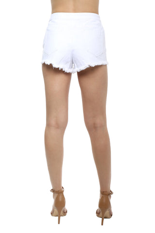 Brooklyn Karma Lace Up Grommet Shorts