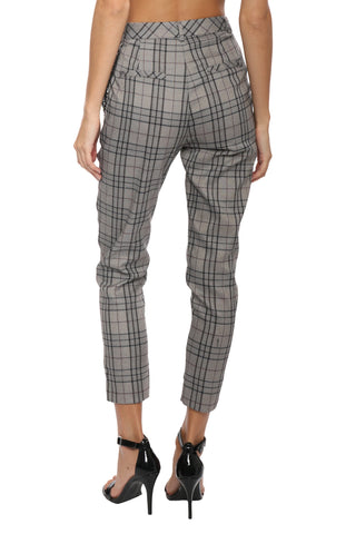Robertson & Rodeo Plaid Chain Pants