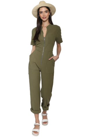 Robertson & Rodeo Zippered Jumpsuit