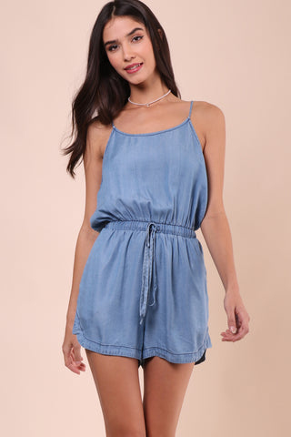 Darah Dahl Pacific Coast Denim Romper