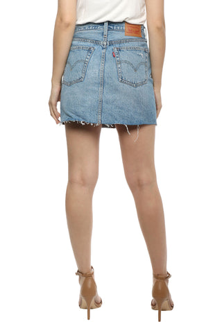 Levi's Destructed Skirt American Wild