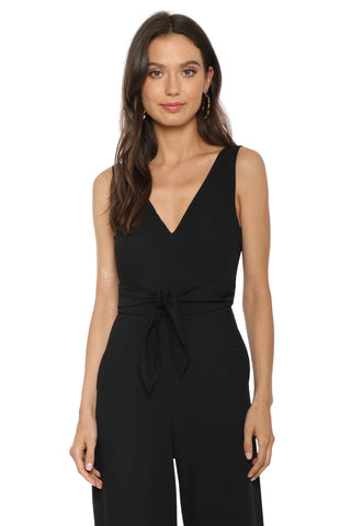 Decker Cutout Wrap Jumpsuit