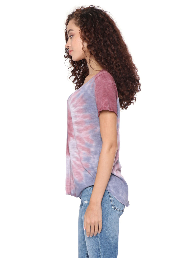 Project Social T Harris Spiral Dye Short Sleeve