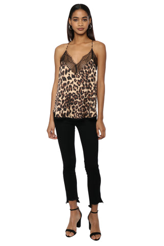 Robertson & Rodeo Leopard Lace Cami