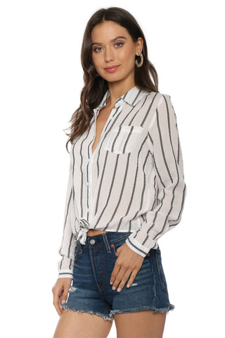 Sunday Stevens Shelter Island Stripe Top