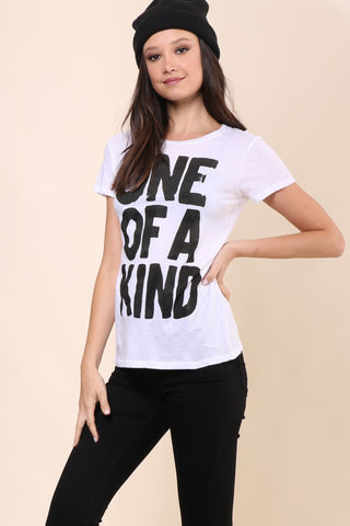 Chrldr One of a Kind Tee