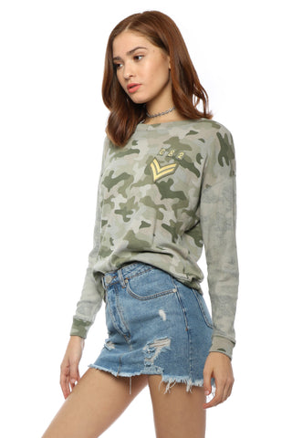 Rails Kelli Pullover - Camo Patches