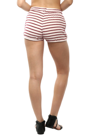 Six Crisp Days Hacci Drawstring Shorts