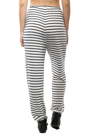 Six Crisp Days Stripe Drawstring Joggers