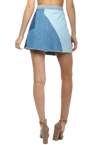 Gab & Kate Denim Patch Skirt