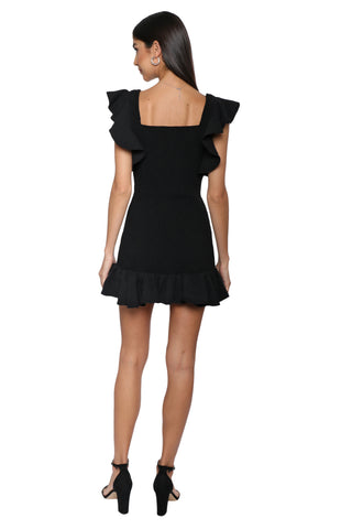 W.A.P.G. Frilled Mini Dress