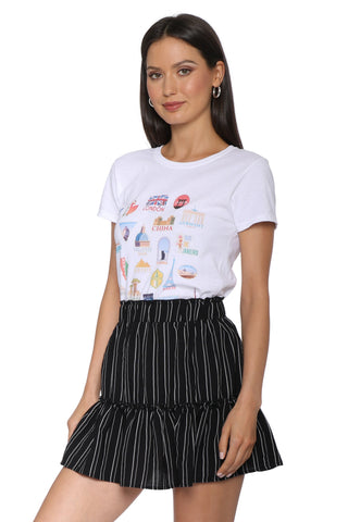 Daisy Street Luggage Sticker Tee