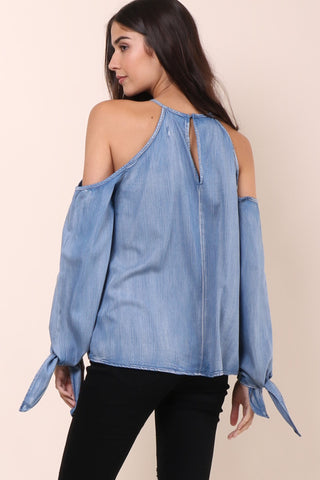Gab & Kate Blue Jean Babe Top