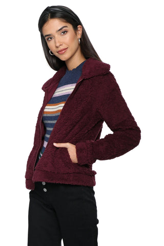 Z Supply The Sherpa Crop Jacket
