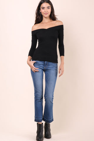 Jac Parker Kyra Top- Black