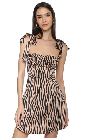 LIONESS Woman Like Me Mini Dress