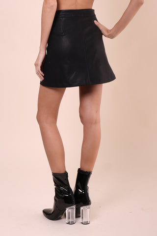 Brooklyn Karma Biker Babe Mini Skirt