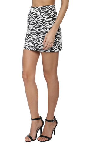 Brooklyn Karma Zebra Skirt